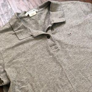 Lacoste Gray Classic Polo
